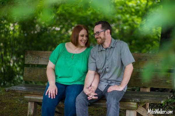 Marisa and Matt Engagement Photo