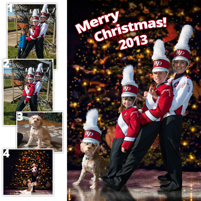 2013 Christmas Card Parts