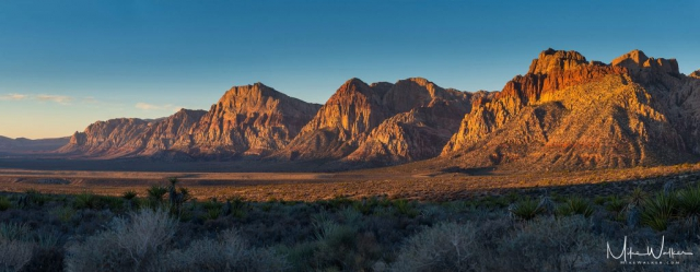 Red Rock Canyon. Travel Photography © Mike Walker